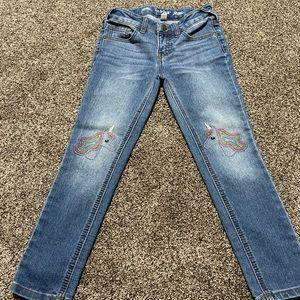 Girls jeans unicorn